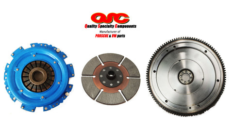 Porsche 356 Clutch Kit 200mm Metallic Clutch Disc + Chromoly Flywheel