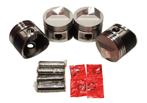 QSC Pistons Set for BMW 2002tii E12 M10 72-75 11251261881 89.5mm