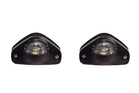 QSC Porsche 912 911 930 914 License Plate Light Set of 2 91163162004