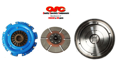 VW Type 1 Clutch Kit Metallic 200mm Clutch Disc + Chromoly Flywheel