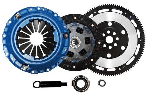 QSC Acura Integra B Series 94-01 Stage 2 Clutch Kit + Chromoly Lightweight Flywheel