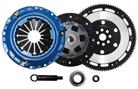 QSC Acura Integra 92-93 Stage 2 Clutch Kit + Chromoly Lightweight Flywheel
