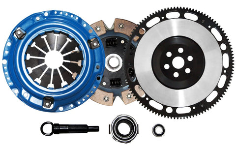 QSC Honda Civic 92-05 Stage 3 Clutch Kit + Forged Flywheel Civic Del Sol