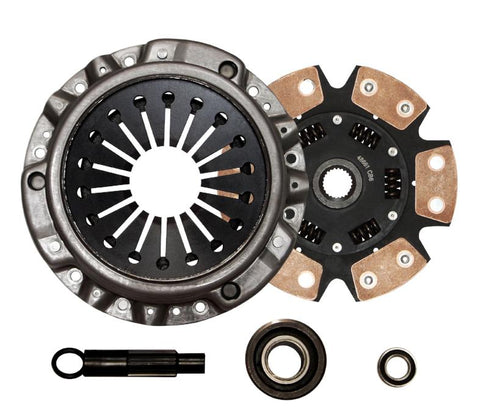 QSC Honda S2000 00-09 2.0L 2.2L Stage 3 6 puck Ceramic Racing Clutch Kit