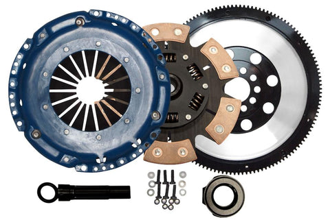 QSC VW CORRADO JETTA GOLF PASSAT 2.8L VR6 Stage 3 Clutch kit Forged Flywheel