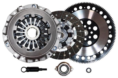 QSC Subaru WRX 02-05 EJ20 EJ20T EJ205 Stage 2 Clutch Kit + Chromoly Flywheel