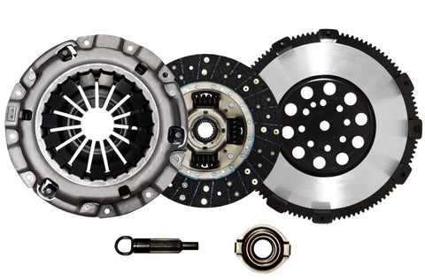 QSC 3000GT VR4 Stealth R/T Twin Turbo Stage 1 Clutch Kit + Chromoly Flywheel