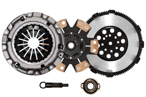 QSC 3000GT VR4 Stealth R/T Twin Turbo Stage 3 Clutch Kit + Chromoly Flywheel