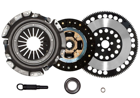 QSC 240SX 89-99 KA24E KA24DE Stage 1 Clutch Kit + Forged Chromoly Flywheel
