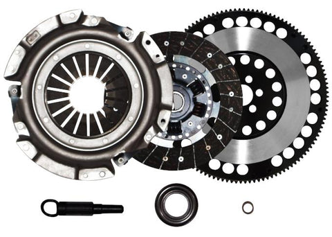 QSC Stage 2 Clutch Kit + Forged Flywheel for Nissan 240SX 89-99 KA24E KA24DE