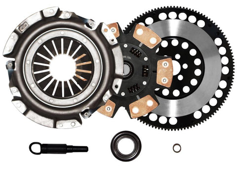 QSC 240SX 89-99 KA24E KA24DE Stage 3 Clutch Kit + Forged Chromoly Flywheel
