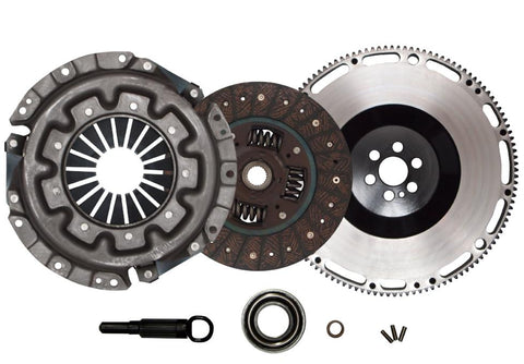 QSC Nissan Skyline RB20DET RB25DET Stage 1 Clutch Kit + Forged Chromoly Flywheel