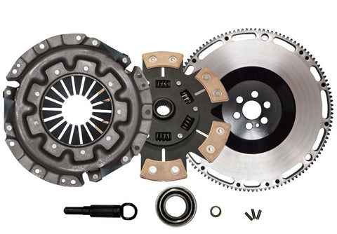 QSC Nissan Skyline RB20DET RB25DET Stage 3 Clutch Kit + Forged Chromoly Flywheel