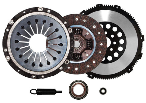 QSC Toyota Supra 1JZGTE 2JZGTE Stage 1 Clutch Kit + Forged Chromoly Flywheel
