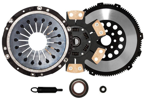 QSC Toyota Supra 1JZGTE 2JZGTE Stage 3 Clutch Kit + Forged Chromoly Flywheel