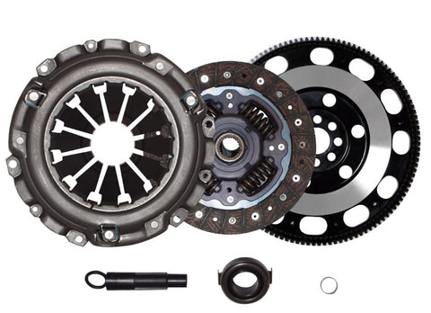 QSC Stage 1 Clutch Kit RSX Type-S Civic Si K20 2.0L iVTEC 6spd + Forged Flywheel