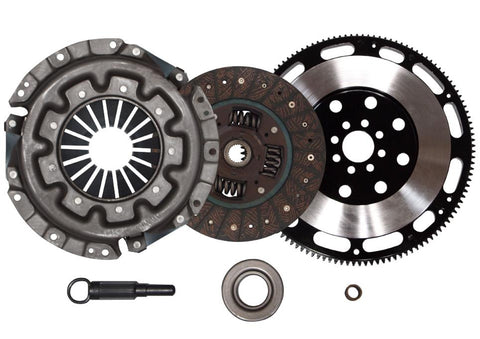 QSC Stage 1 Clutch Kit + Forged Flywheel fits Nissan 90-96 300ZX 3.0L VG30DE NT