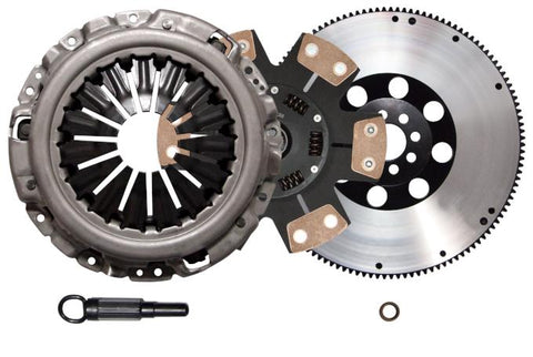 QSC Stage 3 Clutch Kit Flywheel w/o Slave for 370Z G37 VQ35HR VQ37VHR 3.7L