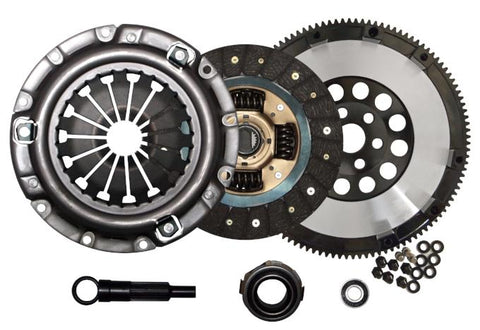 QSC STAGE 1 CLUTCH KIT & RACE FLYWHEEL for 90-05 MAZDA MIATA 1.8L MAZDASPEED