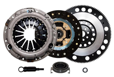 QSC STAGE 1 CLUTCH KIT & RACE FLYWHEEL for 06-14 SUBARU IMPREZA WRX EJ255 5-SPD