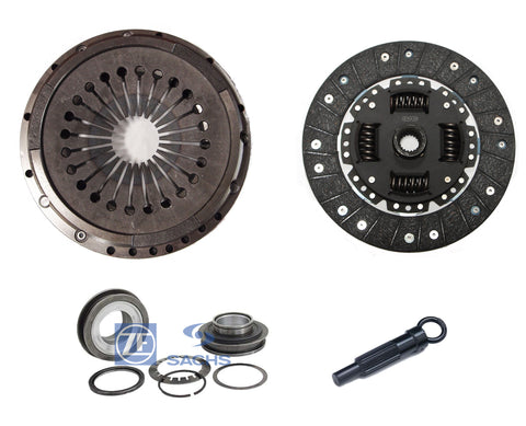 QSC Clutch Kit with Sachs Throw Out Bearing for Porsche 911 72-86 225mm