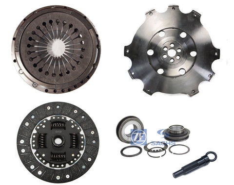 QSC Clutch Kit Light Flywheel w/ Sachs Bearing for Porsche 911 72-77 225mm