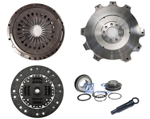 QSC Clutch Kit Lightweight Flywheel 225mm Sachs Bearing for Porsche 911 79-83