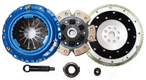 Acura Integra 94-01 Stage 3 Clutch Kit + Aluminum Flywheel 6-puck Ceramic Disc
