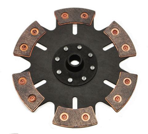 Volkswagen VW Type 4 Porsche 914 228mm 4-pad Rigid Clutch Disc