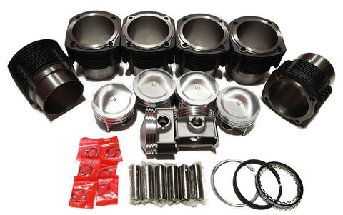 QSC Porsche 911 90mm Cylinders & Pistons Set