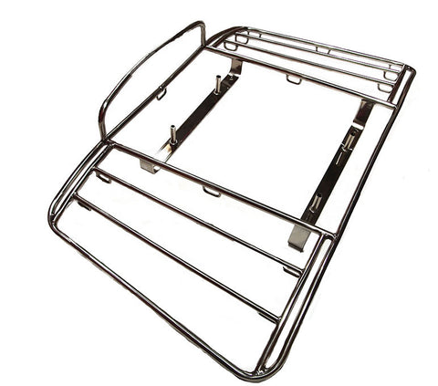 Porsche 356 Lietz style stainless steel Luggage Rack