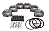 QSC Porsche 911 98mm Pistons Set CR 10.5 with Grant Piston Rings
