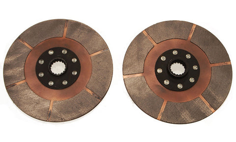 VW Dune Buggy Baja 200mm Full Metallic Friction Twin Clutch Disc