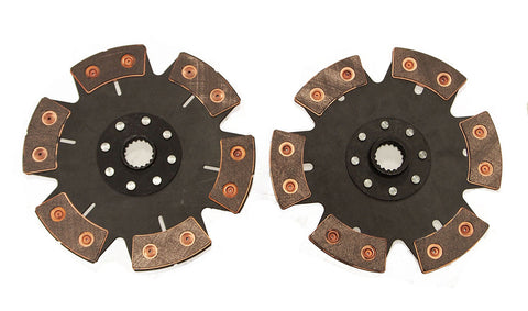 VW Dune Buggy Baja 228mm 6 Puck Ceramic Twin Clutch Disc
