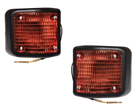 QSC Side Indicator Turn Signal Light Assembly Set LH RH Side for Volvo VNL