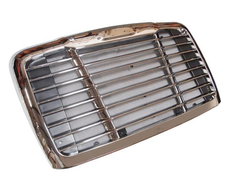 QSC Direct Fit Chrome Grille w/ Bug Screen for Freightliner Cascadia