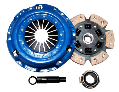 QSC Accord 90-02 Stage 3 6 Puck Ceramic Clutch Kit Prelude Acura CL