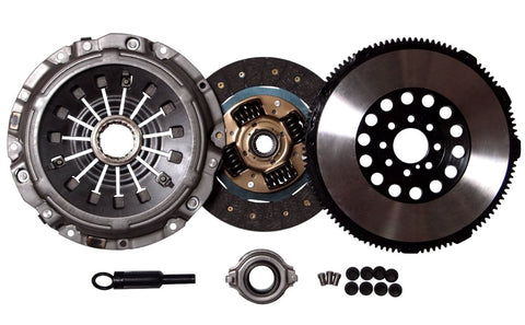 QSC Mitsubishi Eclipse 00-05 GT GTS Spyder 3.0L V6 Stage 1 Clutch Kit + Forged Flywheel