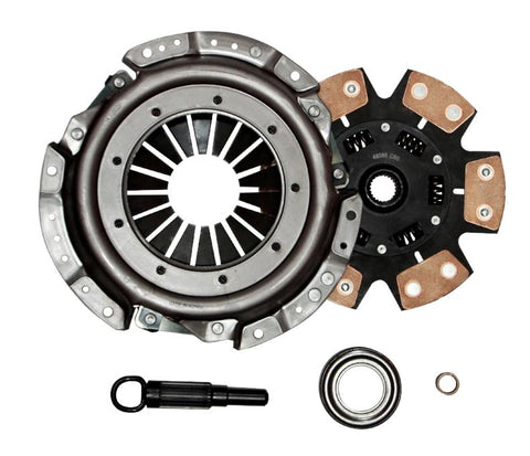 QSC 240SX 89-99 KA24E KA24DE Stage 3 6 Puck Ceramic Clutch Kit