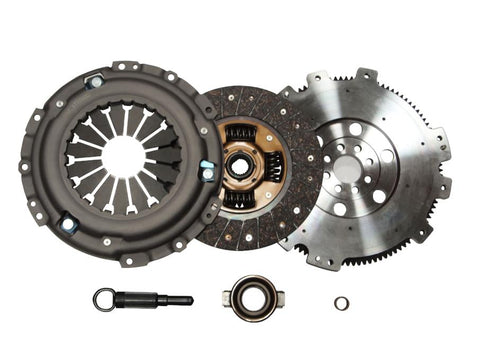 QSC Nissan Silvia SR20DET S13 S14 Stage 1 Clutch Kit + Forged Chromoly Flywheel