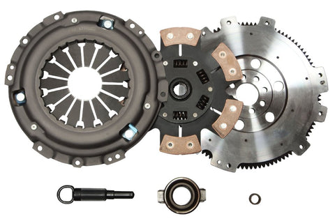 QSC Nissan Silvia SR20DET S13 S14 Stage 3 Clutch Kit + Forged Chromoly Flywheel