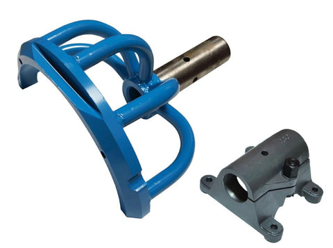 QSC Porsche 356 911 Forged Engine Stand Holding Fixture Yoke-Blue + bench clamp