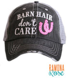 'Barn Hair Don't Care' Trucker Hat