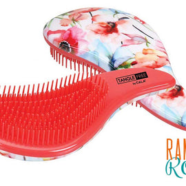 Tangle-free hair brush