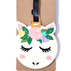 Whimsical luggage tags