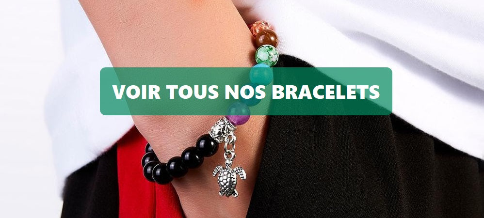 collection bracelets tortue