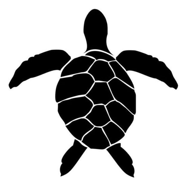 Sticker Tortue Voiture - Hawaï