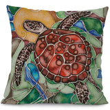 Housse Coussin Tortue - Impressionnisme