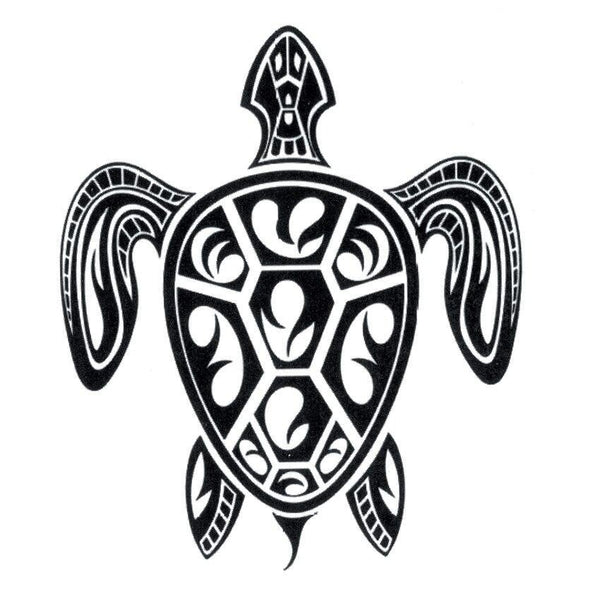 tatouage temporaire tortue tribal