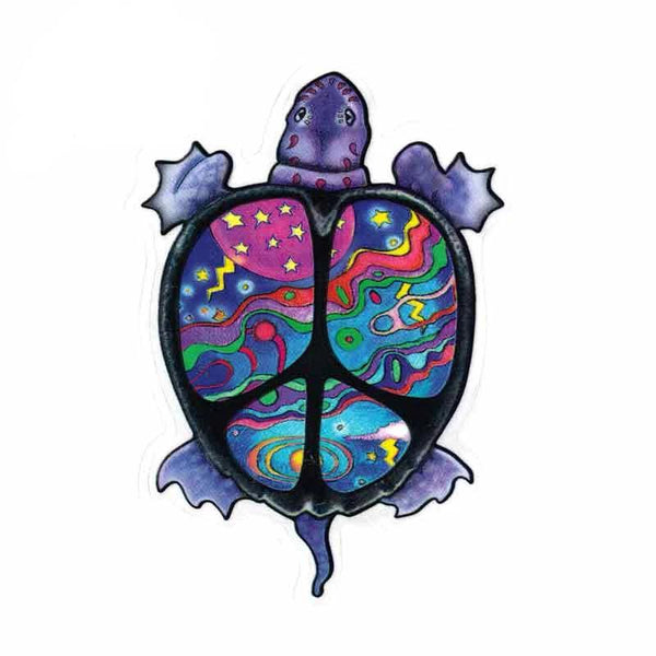 Sticker Tortue - Peace and Sea